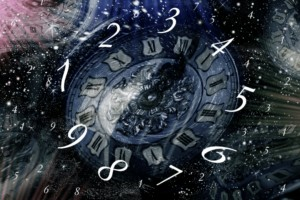Numerology as numbers on a clock